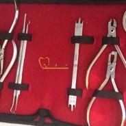 Bộ dụng cụ chỉnh nha (15 chi tiết)