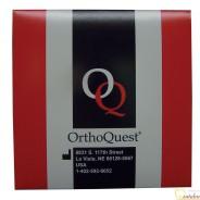 Dây cung SS chữ nhật OrthoQuest 25 sợi/gói