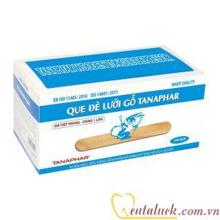 Que đè lưỡi gỗ (100c/hộp)