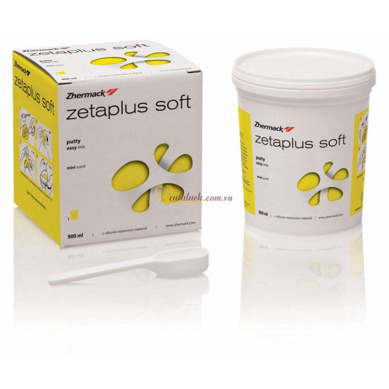Cao su nặng ZetaPlus soft (900ml = 1.53kg) vàng