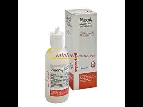 Fluocal gel ngừa sâu răng Septodont