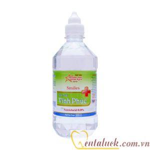 Nước muối sinh lý Natri Clorid 0,9% 500ml