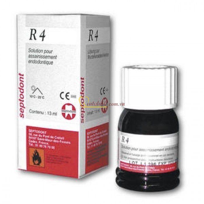Sát trùng tủy chết và sống R4 Septodont 13ml
