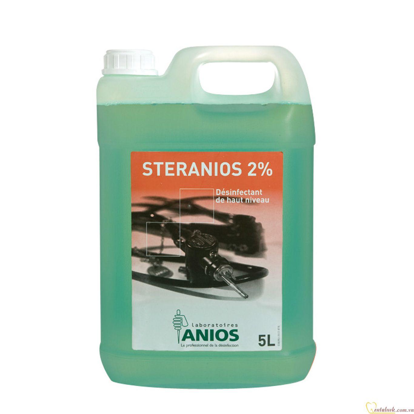 DD ngâm dụng cụ Steranios G+R (5 Lít)