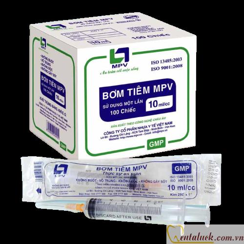 Bơm tiêm 5cc MPV (25G x 1)