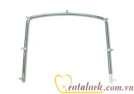 Khung inox đặt đai cao su nội nha (rubber dam frame)