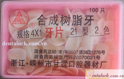 Mặt răng tạm (100c)