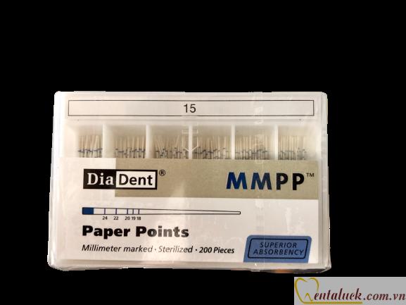 Cone giấy Paper Points DIADENT có vạch