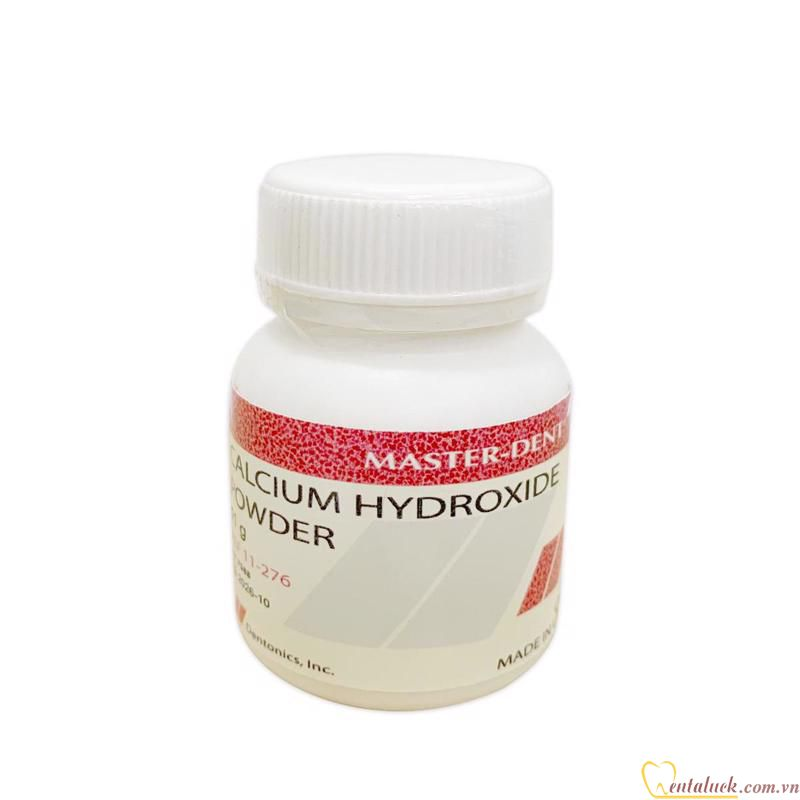 Calcium Hydroxide Masterdent 11g Ca(OH)2 (Sao chép)